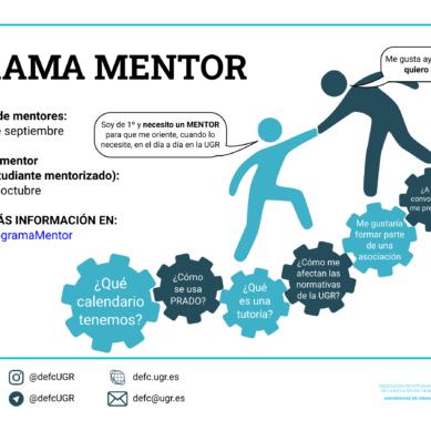 ¿Quieres ser estudiante mentor en la UGR?