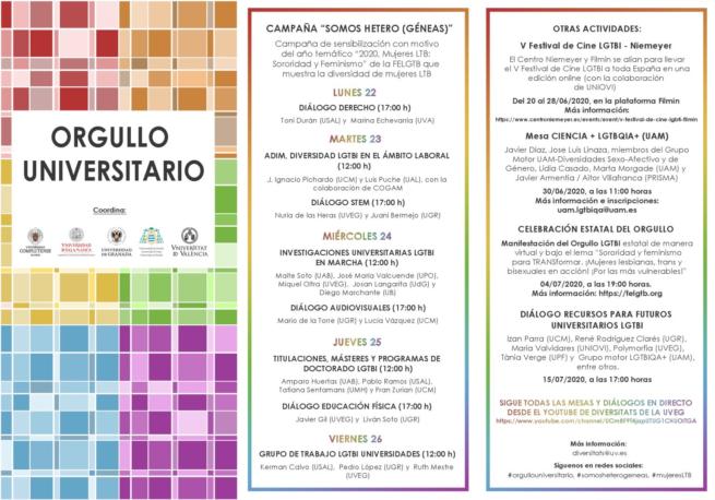 La UCA se suma a las actividades a favor de la igualdad y la diversidad LGBTI a través del programa #orgullouniversitario