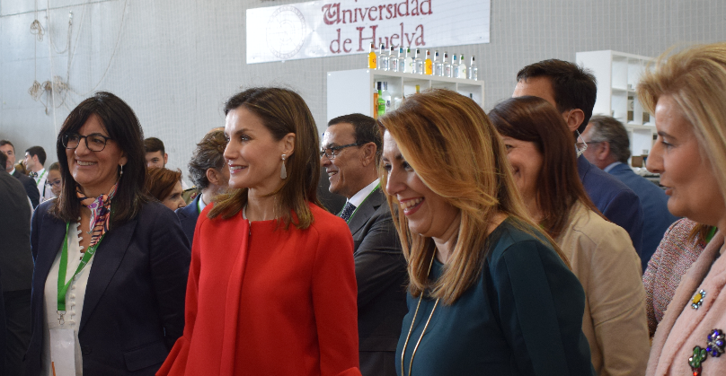 La reina Letizia acude a la presentación del V Campeonato de FP AndalucíaSkills
