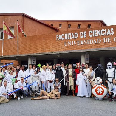 Star Wars llega a la Universidad de Granada para motivar a los estudiantes