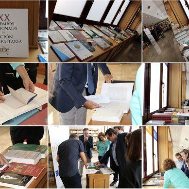 Un total de 170 obras optan a los Premios de Edición Universitaria 2018