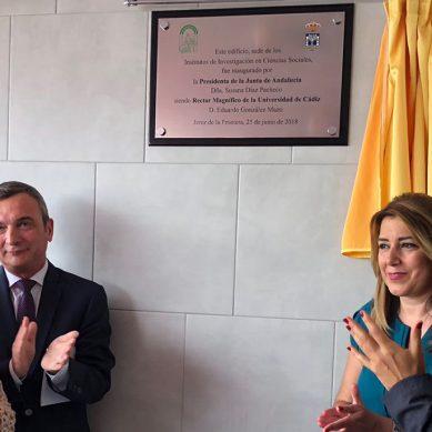 La UCA inaugura un nuevo edificio de investigación en el campus de Jerez