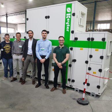 Un equipo de la UCO diseña un nuevo sistema de climatización