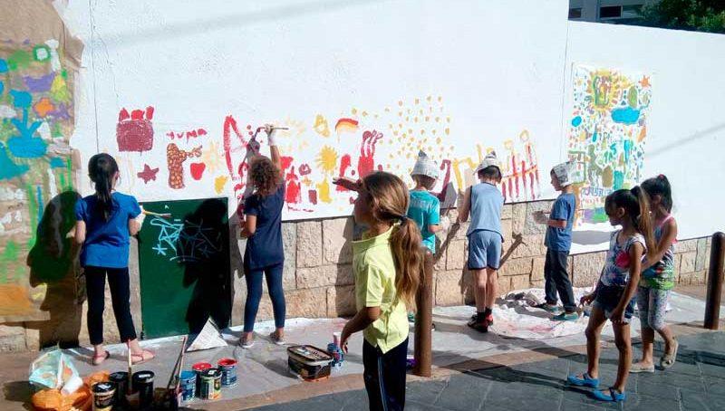 Profesorado de la UJA utiliza la creación artística como metodología de aprendizaje en diversos centros educativos de la provincia
