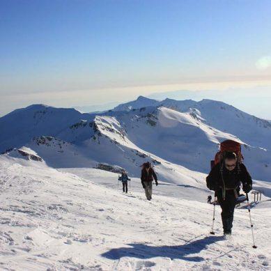 Montaña y nieve para reducir el estrés acumulado en la época de exámenes