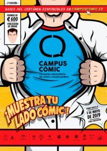 Cómic en la Universidad de Huelva para el lanzamiento de artistas