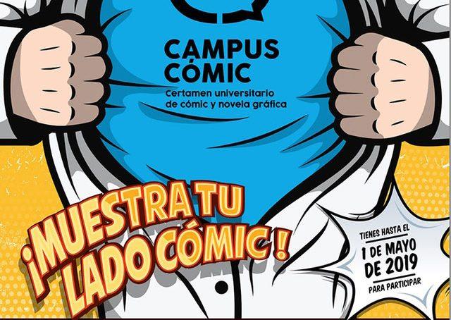 Muestra tu lado más cómic en CampusCómic 2019