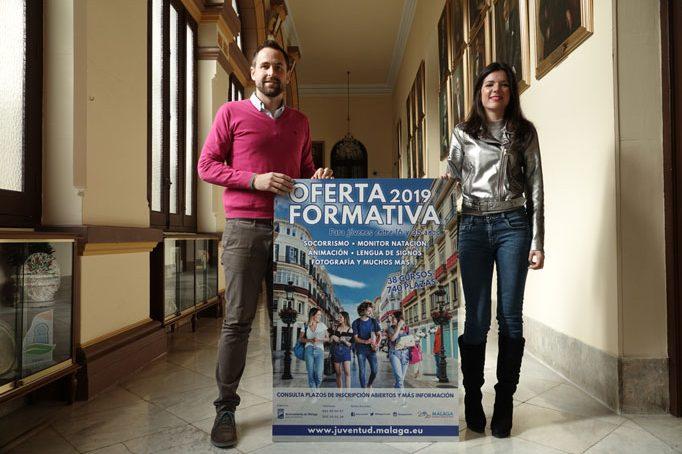 El Ayuntamiento de Málaga ofrece cursos de formación a jóvenes que hayan cometido infracciones de carácter leve