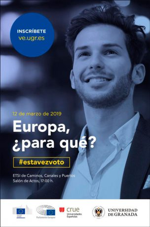 La Universidad de Granada organiza el Congreso 'Europa ¿para qué?' Un evento donde se debatirá sobre las próximas elecciones europeas
