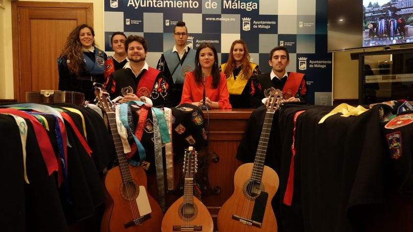 Las tunas de Málaga le ponen mucho 'Alma, corazón y vida'