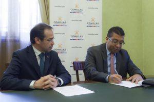 La Universidad Pontificia de Comillas ICAI es la única institución española que tiene un acuerdo firmadocon la Universidad de Columbia