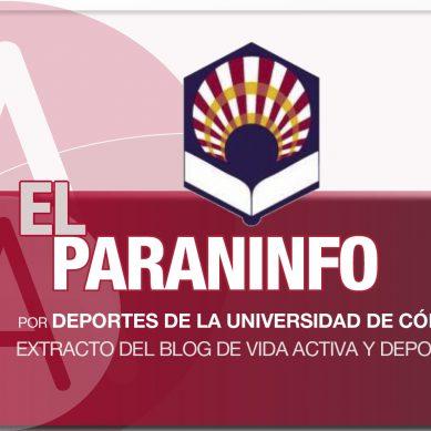 Vida activa y deporte en la Universidad de Córdoba
