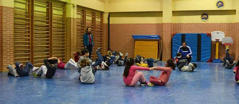Judo para disminuir el riesgo de las caídas en los niños y niñas