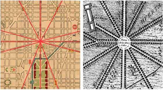 ¿Podría estar Washington inspirada en Aranjuez?