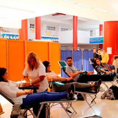 Dona sangre en la Universidad de Málaga