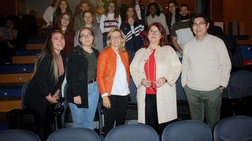 Un tour único por el campus para los estudiantes de Trabajo Social UAL