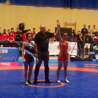 Estudiantes de la UJA consiguen tres medallas de oro en el CEU de Lucha
