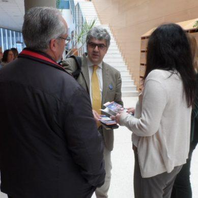 Miguel Ángel Pendón comienza su campaña pidiendo el voto cara a cara