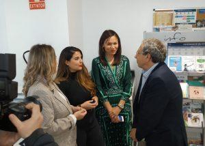la Universidad de Málaga ha inaugurado hoy de forma oficial la Oficina Welcome to UMA en un acto con representantes de toda la institución