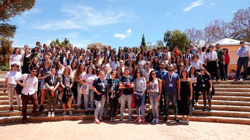 La UMA despide a más de cien estudiantes que viajarán por el mundo en proyectos de cooperación
