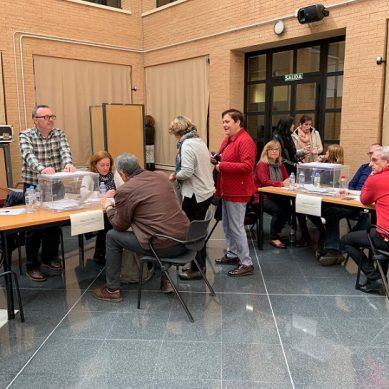 Jornada electoral en la UAL con motivo de las elecciones a rector