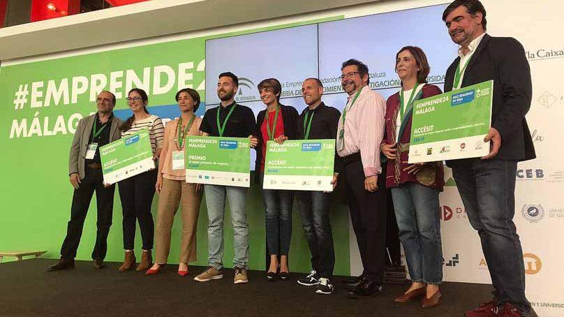 'CoEspacio' recibe el primer premio en #Emprende24 Málaga