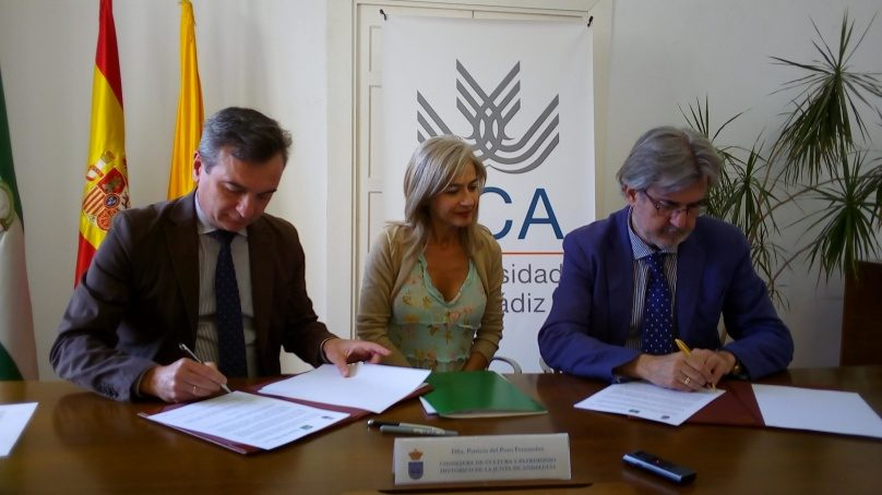 El Instituto Andaluz de Patrimonio Histórico convenia con la UCA su participación en el máster oficial en Arqueología Náutica y Subacuática