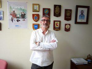 Piniella, en su despacho.