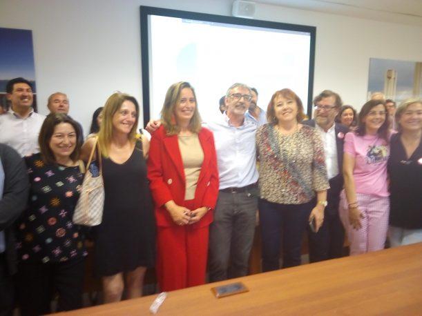 foto de grupo del equipo de Piniella