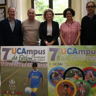 La UCA presenta las nuevas ediciones de sus campamentos infantiles de verano