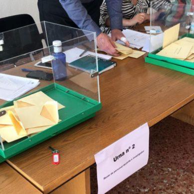 El 75,92% de los votantes dan su respaldo a Pilar Aranda