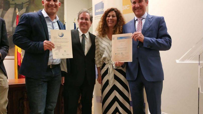 La Escuela Superior de Ingeniería de la UAL recibe dos sellos de calidad europeos