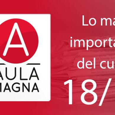 Lo más leído en Aula Magna en el curso 2018/2019