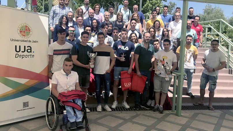 La UJA reconoce a sus mejores deportistas en la Fiesta del Deporte Universitario