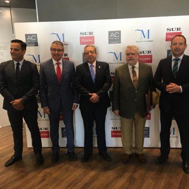 La Diputación propone a la UMA crear una cátedra en Trastornos del Espectro Autista