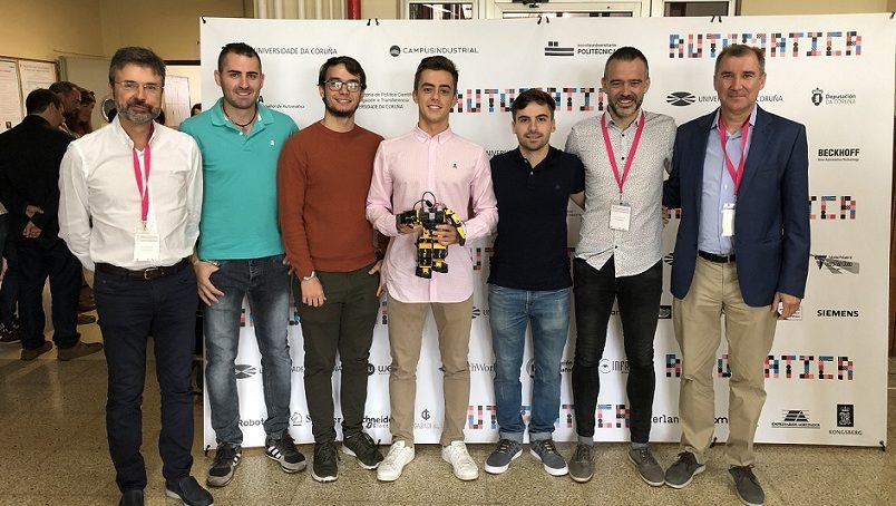 Dos estudiantes de la UAL conquistan el concurso nacional de Ingeniería de Control