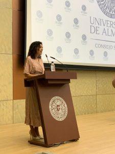 Magdalena Cantero, presidenta del Consejo Social de la UAL.