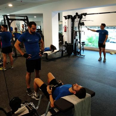 Nueva sala de musculación y cardio para estar en forma en la UJA