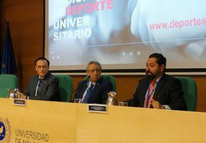 La UMA acoge las Jornadas Nacionales de Deporte Universitario