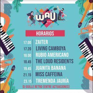 El próximo 18 de octubre los amantes de la música tienen una cita en elWAU Festival, un encuentro que llega a su segunda edición en Málaga.