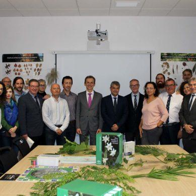 Los ministros Pedro Duque y José Guirao visitan la Universidad de Almería