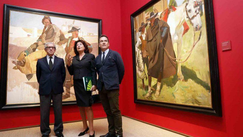 La exposición 'Sorolla tierra adentro' inaugura el nuevo Centro Cultural Fundación Unicaja de Málaga
