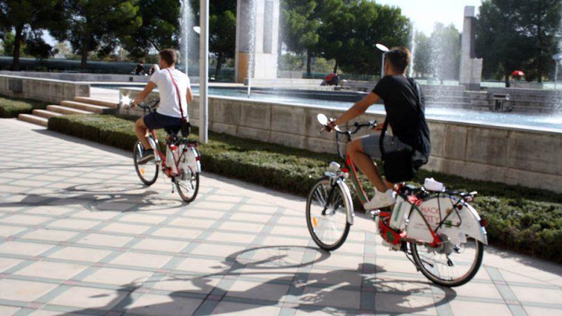 25 bicicletas eléctricas para fomentar la movilidad sostenible en la UJA