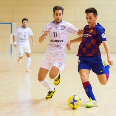 El BeSoccer CD UMA Antequera se impone al Barça B