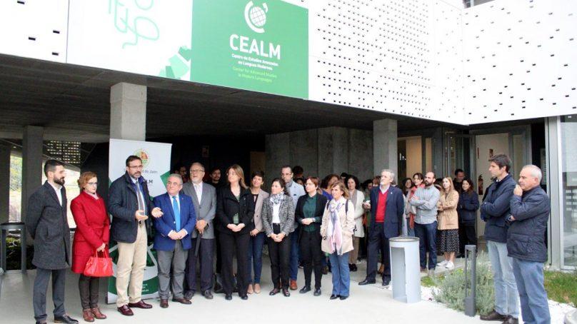 El Centro de Estudios Avanzados en Lenguas Modernas de la UJA inaugura sus nuevas intalaciones