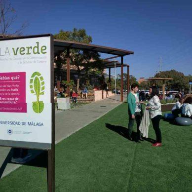 Espacios verdes para el descanso de los universitarios malagueños