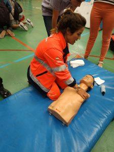 El Complejo de Deportes de la Universidad de Málaga ha acogido las jornadas de formación en actuación ante la parada cardiorespiratoria RCP