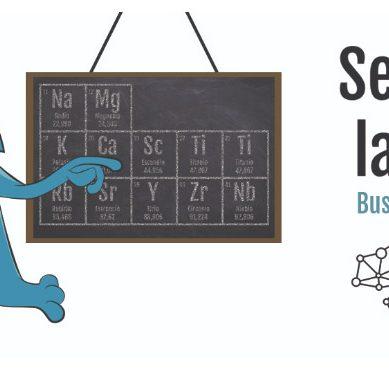 La tabla periódica protagoniza la Semana de la Ciencia 2019