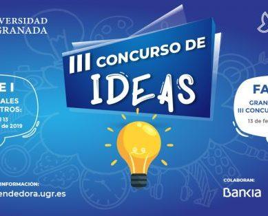 "III Concurso de Ideas ""UGR Emprendedora"""