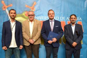 Vicerrector y autoridades presentan la Semana de la Ciencia de la UAL